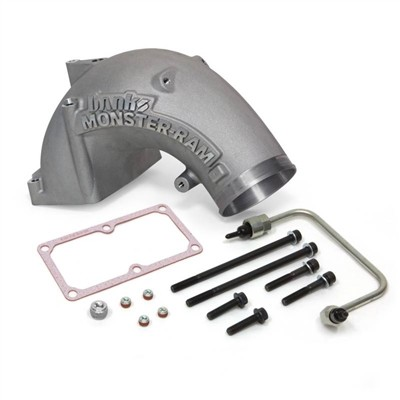 Banks Monster-Ram Intake Sys w/Fuel Line and 4 to 3.5 Hump Hose - 2007-17 Dodge/RAM 6.7L, 4.0, Natural