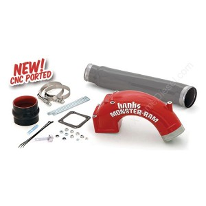Banks Monster-Ram Intake-w/Boost Tube - 2003-07 Dodge 5.9L